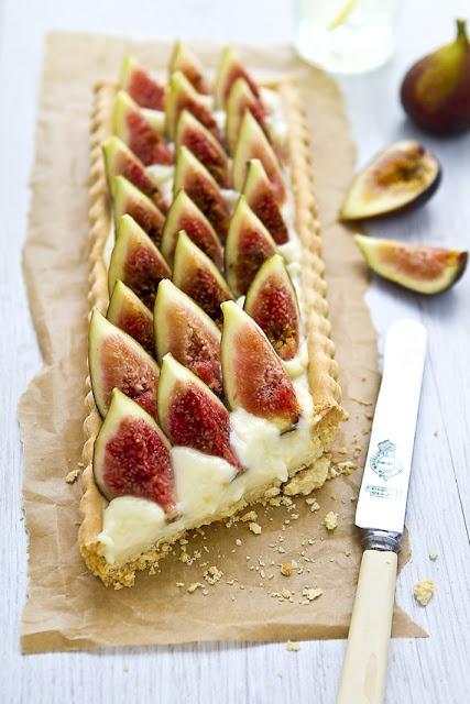 Fig Tart | Mouthwatering Food | Pinterest