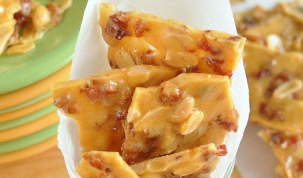 Bacon Peanut Brittle | Candies | Pinterest