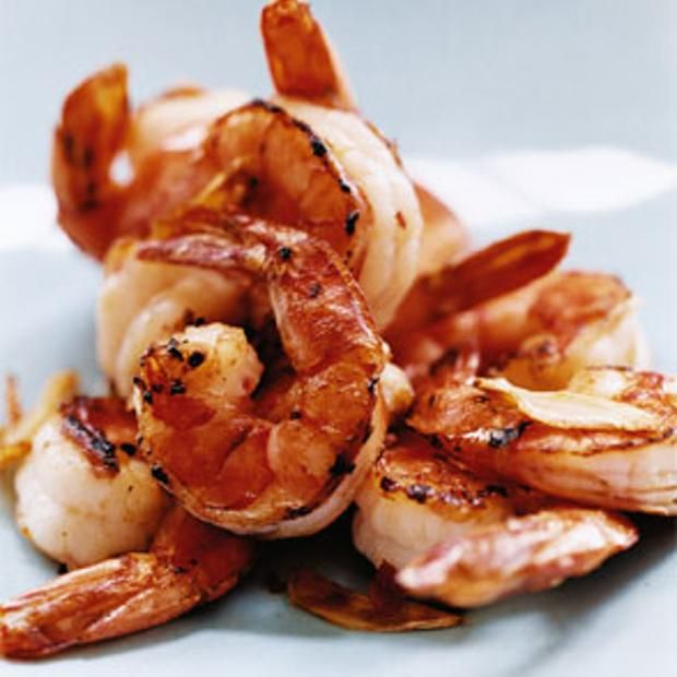 Hot Pepper And Garlic Shrimp | Come to the table. | Pinterest