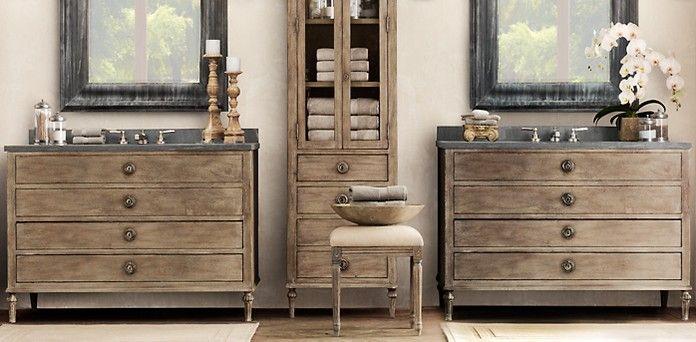 Furniture restoration hardware Restoration hardware bathroom
