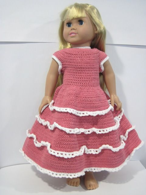 American Girl Doll clothes Crochet Patterns Pinterest