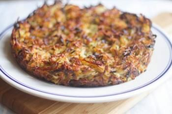 Crispy Potato, Onion, and Mushroom Rosti | Food to try | Pinterest