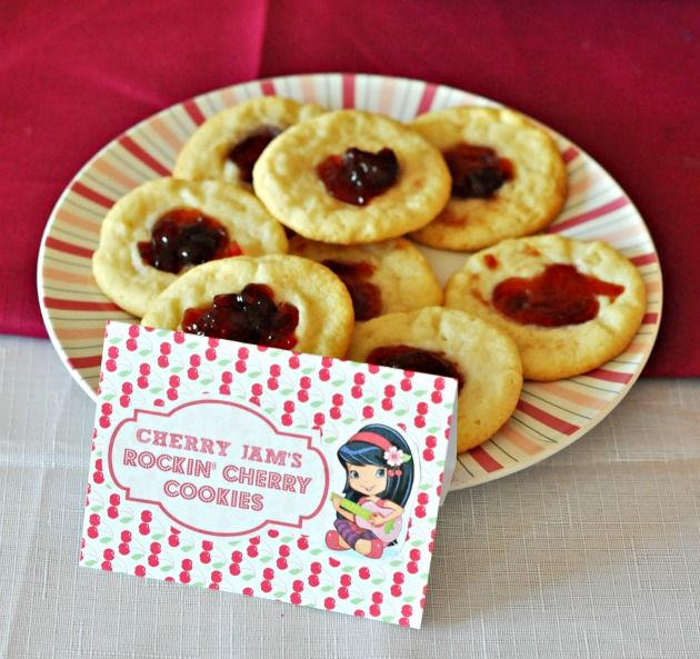 Cherry Jam Cookies | sweet tooth | Pinterest