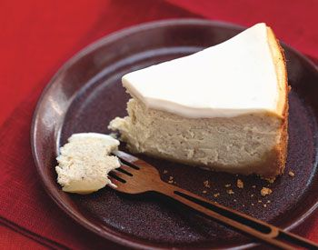 Chai-Spiced Cheesecake with Ginger Crust | Foodie Station | Pinterest