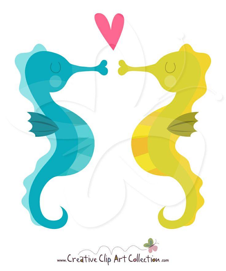 cute Seahorse clip art...