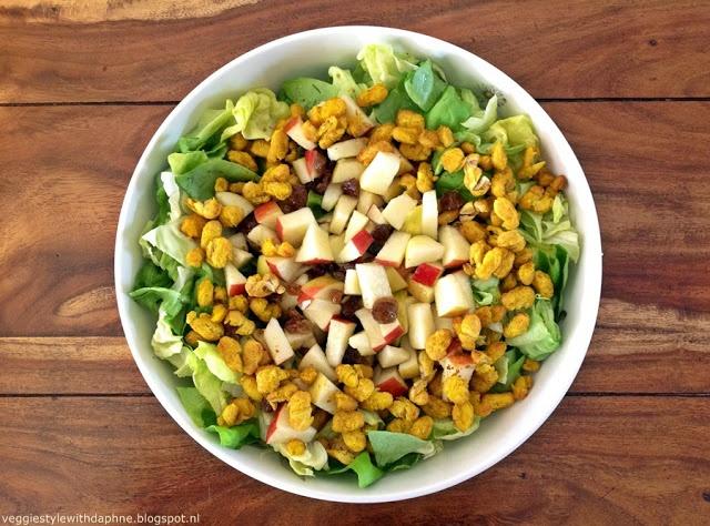 Curried Bean Salad | salad | Pinterest