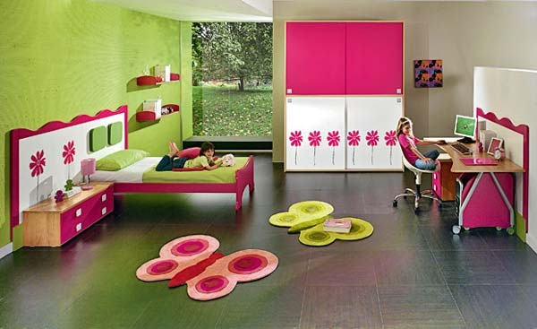 Butterfly girls bedroom ideas pinterest for Butterfly bedroom ideas