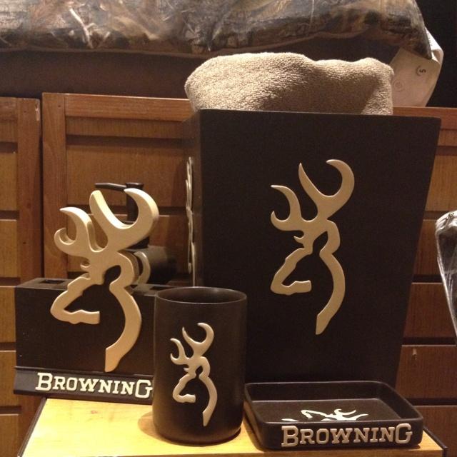 Browning buck bathroom set - awesome, at bed bath  | *� Ba???oo?