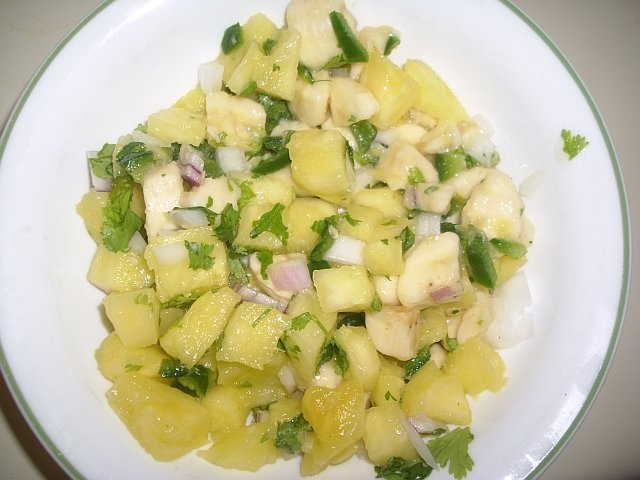 Pineapple And Banana Salsa Recipe — Dishmaps