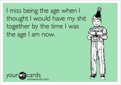 30th birthday woes.....