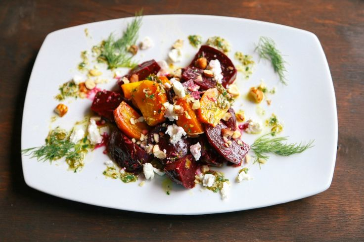 beets see note below 8 roasted baby red beets 4 ounces soft chèvre ...