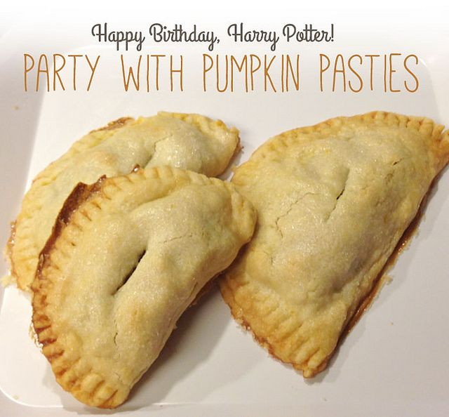 Harry Potter Pumpkin Pasties | Nerd Recipes | Pinterest