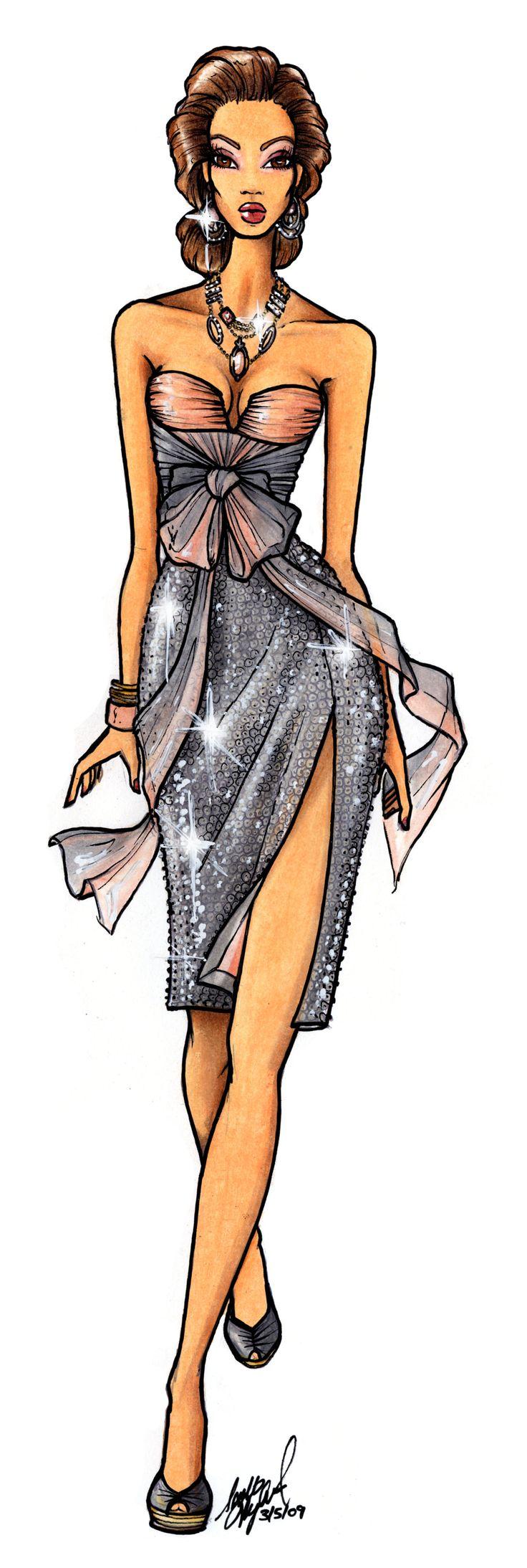 Drawing fashion bill thames 48