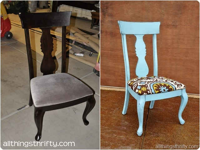 Refinishing furniture 1 thumb 4 creative ideas paint for How to redo dining room chairs