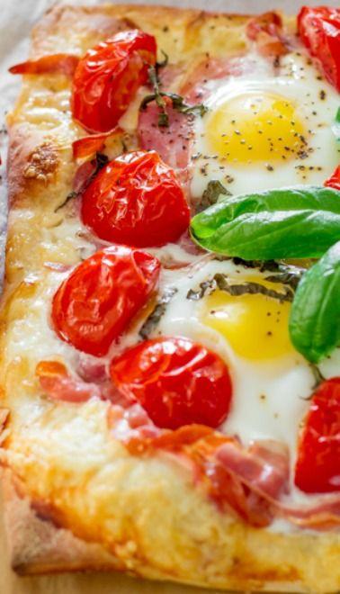 harissa spaghettini pizza breakfast pizza breakfast pizza breakfast ...