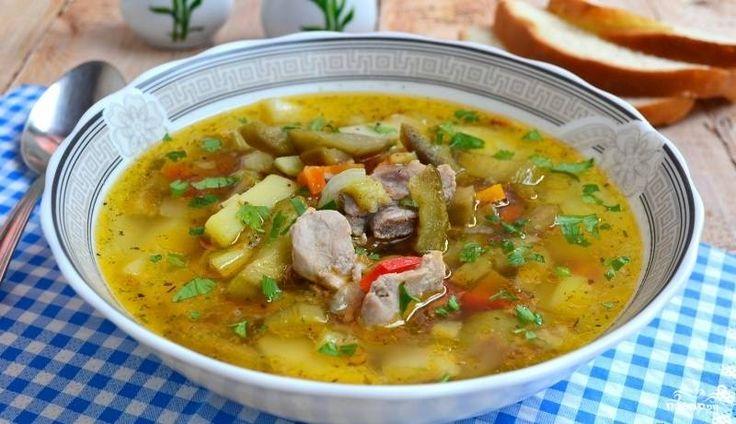 Вкусный суп из свинины рецепт с пошагово