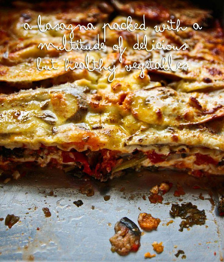 Kale lasagna pie | Dinner-Meatless | Pinterest