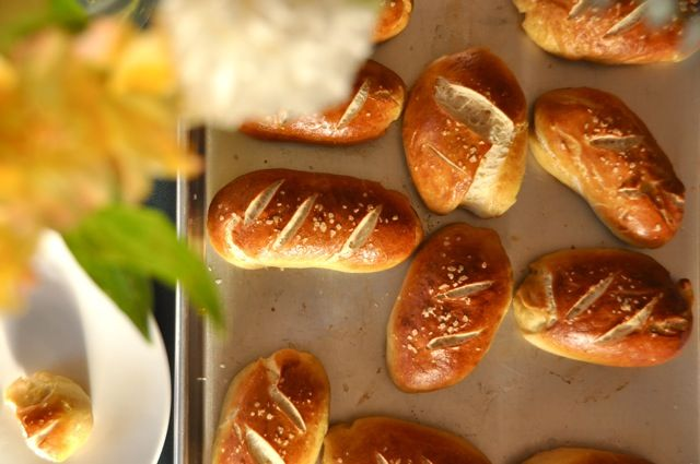 Homemade Pretzel Rolls | Appetizers, Sides, and Snacks | Pinterest