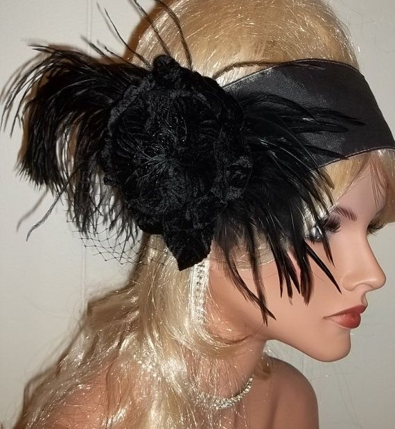 ... Flapper Wedding Hair Head Band Race Fascinator LONG HAIRSTYLES