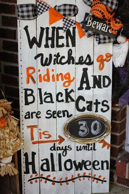 Priscillas: Fall and Halloween Chalkboards