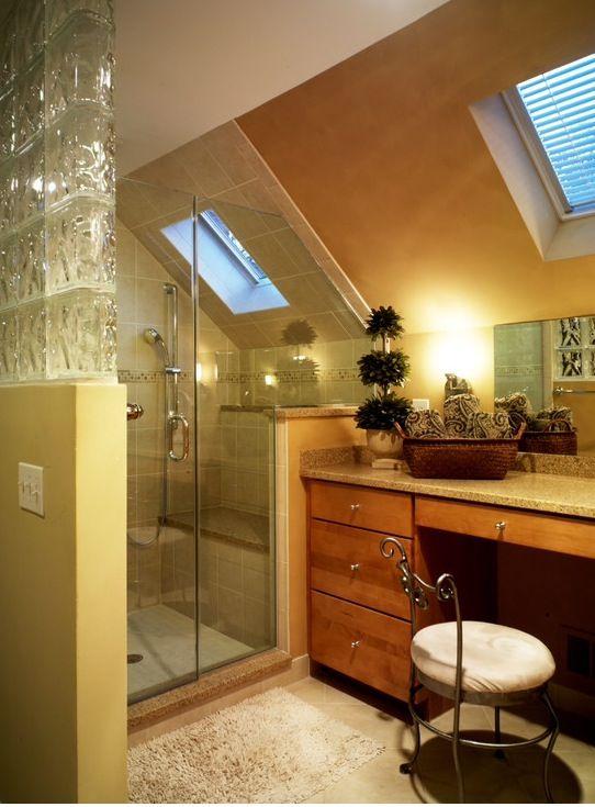 Attic Bathroom Ideas Attic Ideas House Additions Pinterest