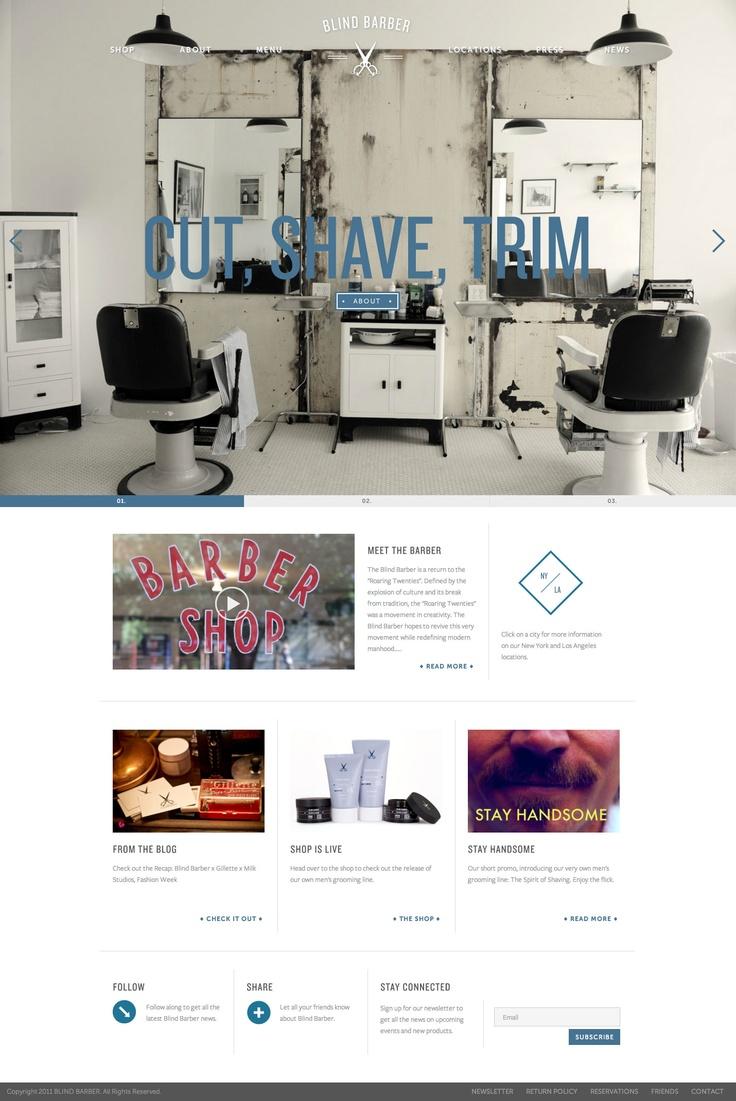 design website blind