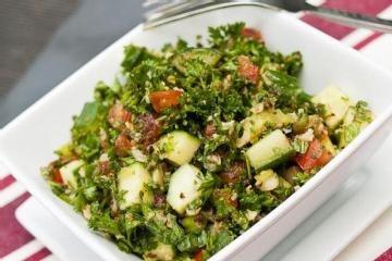 Gluten-Free, Paleo Tabbouleh   Recipes - Sides   Pinterest