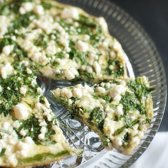 Feta, spinach and feta make for a light and delicious Spring breakfast ...