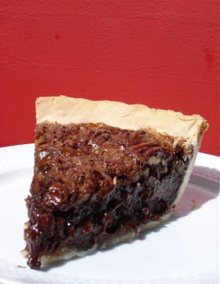 Chocolate Espresso Pecan Pie...HOLY NOMMMM SOUNDS HEAVENLY