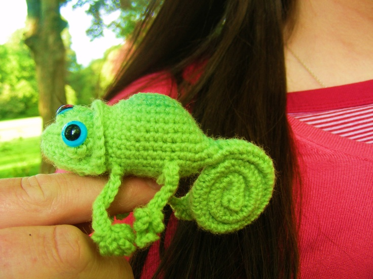 Chameleon CROCHET PATTERN by Wibit on Etsy