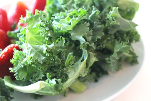 ... talk Angels, skinny tips, and weight loss tricks with a kale smoothie