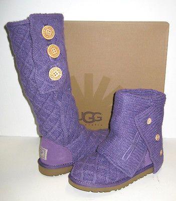 ladies purple ugg boots