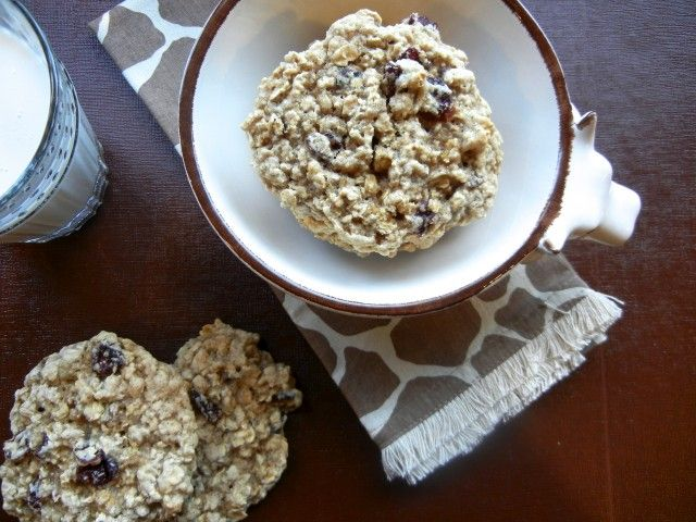 Ginas Low Fat Banana Nut Oatmeal Cookies | Recipe