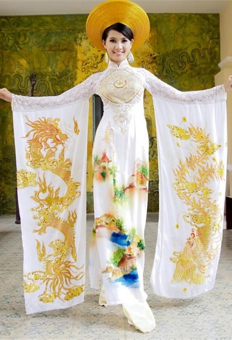 Wedding Dresses  Vietnam : Pin by ao dai vietnam on wedding dress