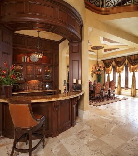 bar dining room interior design room ideas home pinterest