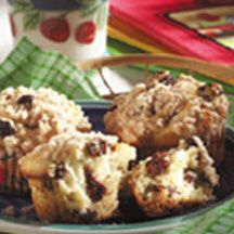 Dried Cherry Muffins | Wake Me Up Breakfast Ideas | Pinterest