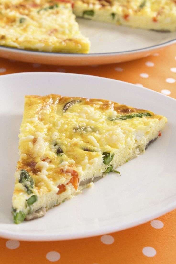 Asparagus Frittata Recipe Video: A perfect vegetarian recipe for ...