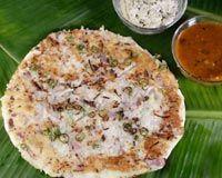 Uttapam - South Indian Fermented Bread - YUM!