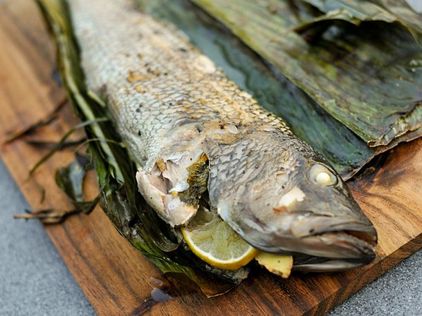 Grilling: Stuffed Fish Wrapped in Banana Leaf | Recipe