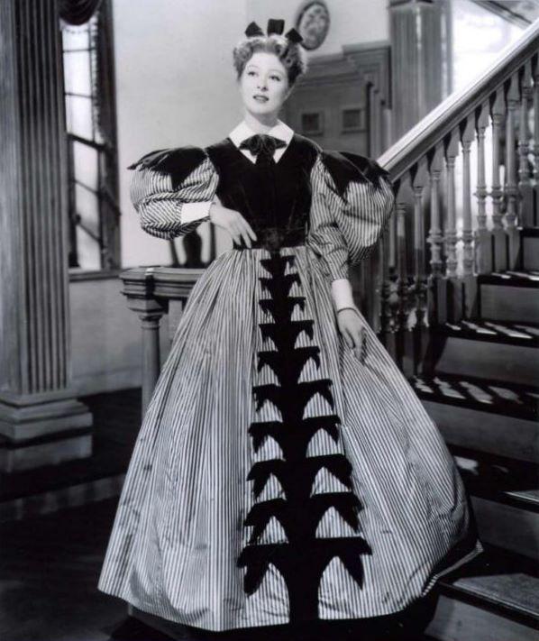 Greer Garson (as Elizabeth Bennet, Pride and Prejudice 1940)