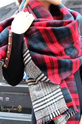 Kodiak Blanket Scarf – Bungalow 123 $32