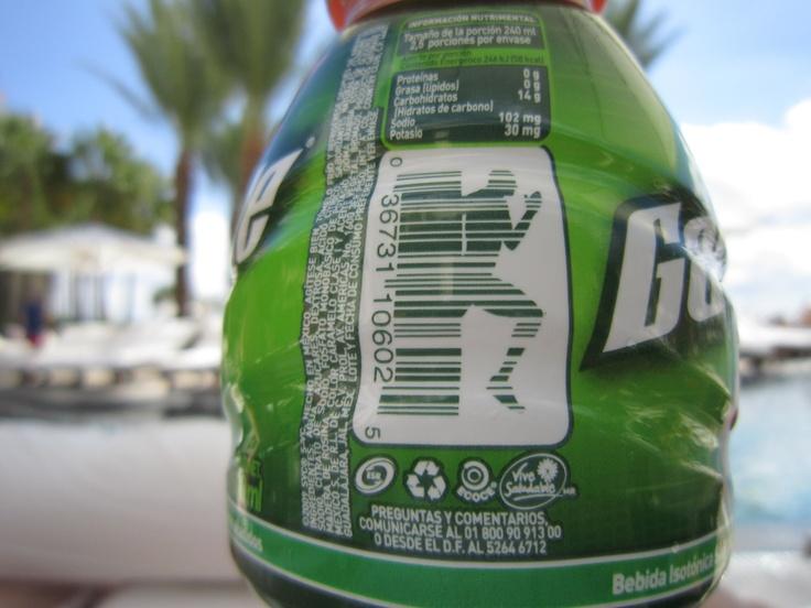 Gatorade barcode