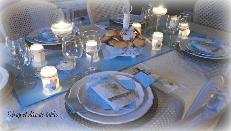 deco de tables pour la st Valentin  DECO TABLES - TABLESCAPES  Pint ...