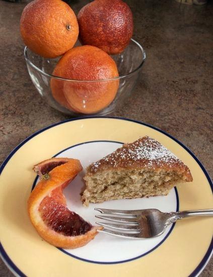 Blood Orange Olive Oil Breakfast Cake | Recipes from Diane's Food Blo ...