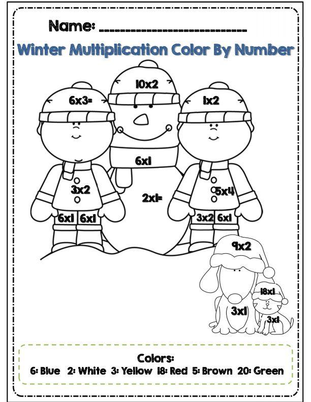 Third Grade Winter Math & ELA Packet *Common Core Aligned