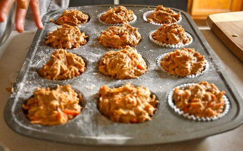Apple Carrot Ginger Spelt Muffins | Anti-inflammatory Diet | Pinterest