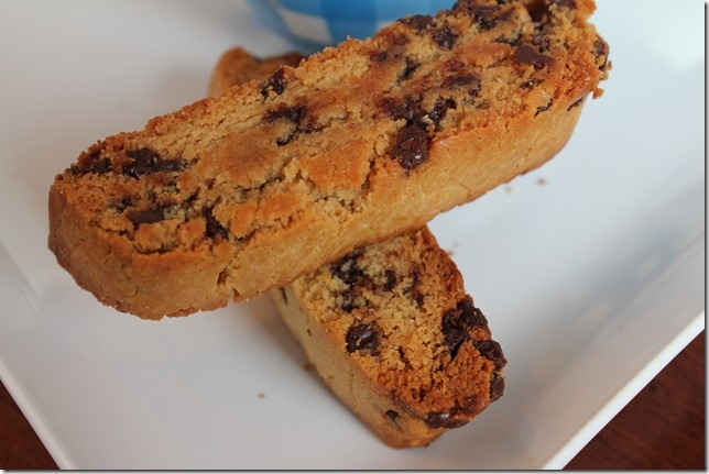 Peanut Butter Chocolate Chip Biscotti | Food & DRINKS & Sweets I want...