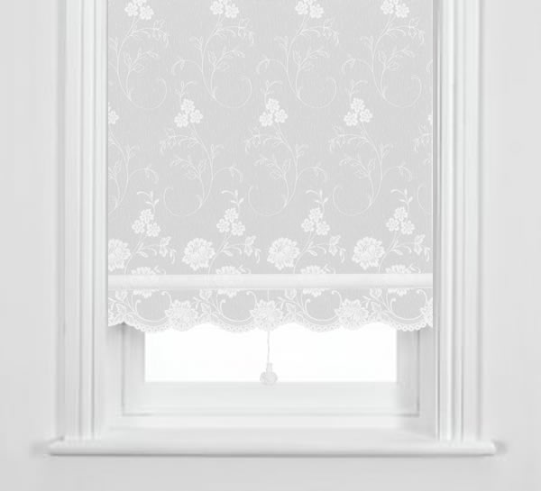 Lace Roller Window Shades