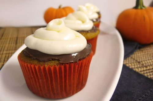 Nutella Cupcakes With Nutella & Cream Cheese Frosting Recipe ...
