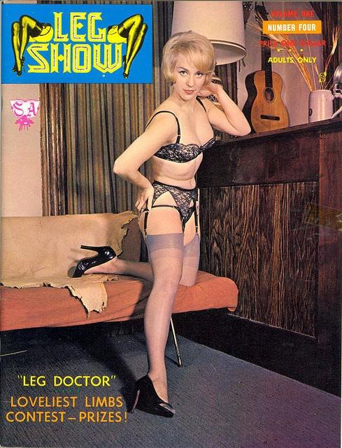 History! Leg show magazine models